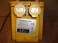 110V TRANSFORMER 3.3kv
