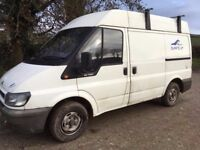 Ford Transit DVLA registered campervan. 11 months MOT!!!