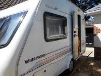 Elldis Whirlwind GT 2 berth caravan 1999
