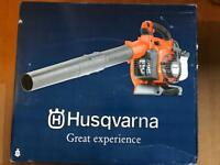 Husqvarna 125BVX Petrol Leaf Blower/ OPEN TO OFFERS