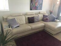 Italian leather sofa ex Sterling's Heavy item, large room required.
