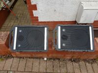 Peavey wedge monitor speakers