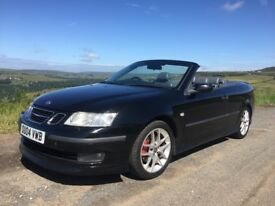 Saab 9-3 Aero Turbo Convertible. 210bhp Lots of fun. 12 months MOT. gutted to be selling.