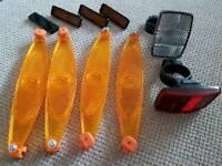 Bike reflectors. Unused - brand new bundle