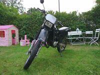 Yamaha DT 125R 125 road legal conversion quick sale