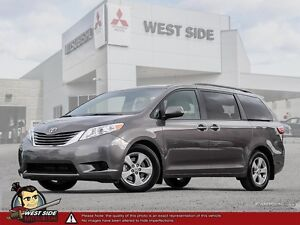 2016 Toyota Sienna LE–Accident Free–FWD–3.5L V6–