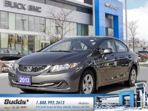 2013 Honda Civic LX SAFETY AND RECONDITIONED