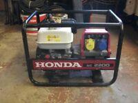 Honda EC 2200 petrol generator