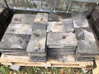 "280 Reclaimed Roof Slates - 14"" x 8"" - UK Delivery"