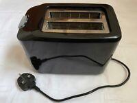 Asda George Home 2 Slice Toaster Black
