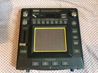 Kaossilator Pro+ (plus) Korg Synthesiser, Drum Machine and Sampler