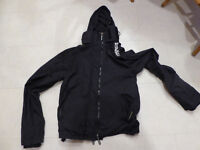Superdry jacket, fleece lined Windcheater, medium