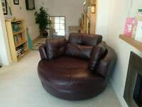 Sofology Amersham swivel cuddle chair
