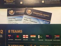 India Vs Pakistan 3 Tickets RV Eric Hollies Stands