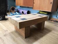 Oak coffee table for sale