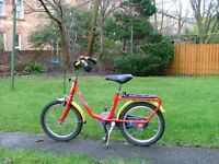 """Kids Puky Bike 16"""" wheels for ages 3+"""
