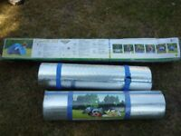 3 MAN TENT & 2 INSULATING MATS (ALL NEW IN BOX)