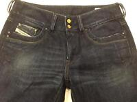 Womens Diesel Jeans Ronhar W30 L34 Blue Bootcut