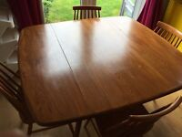 Original Ercol Dropleaf Dining Table