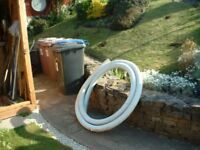 21 FEET OF `PLASTIC DRAINAGE PIPE