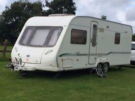 Bessacarr twin axle caravan