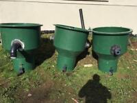 Koi pond filters