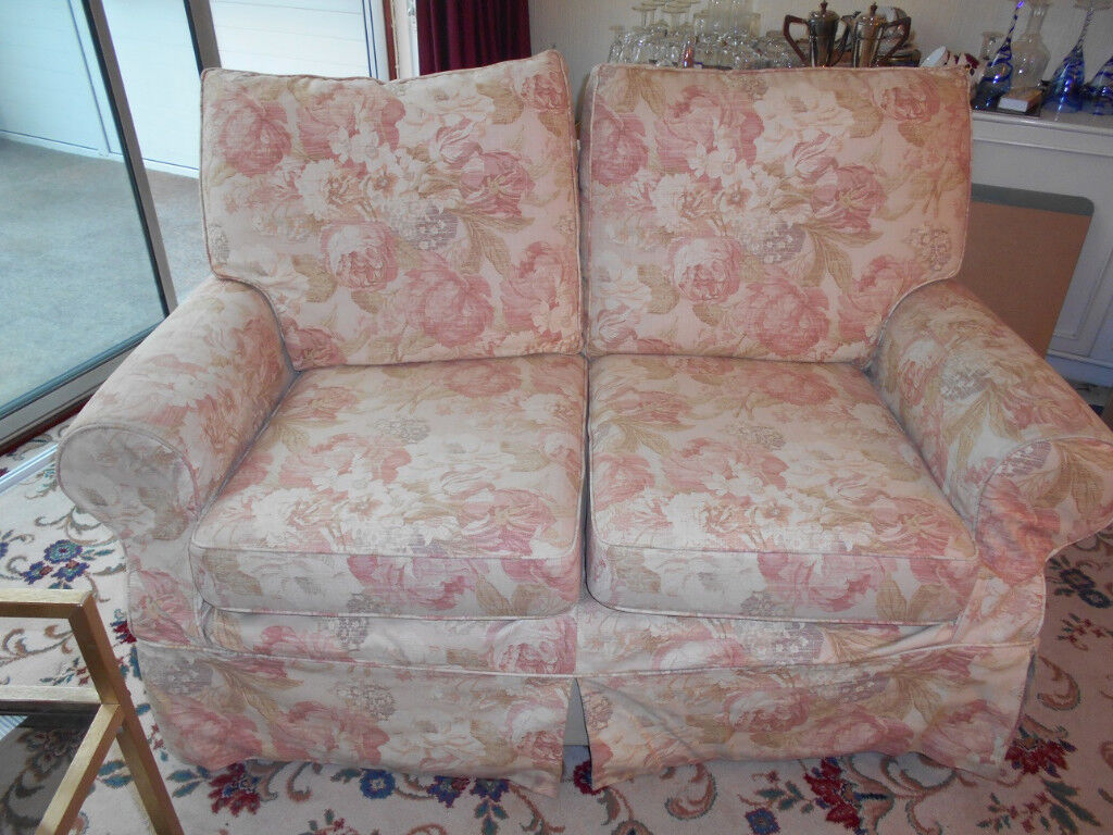 Two x Two seater settee