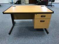 Office desk with 2 draws