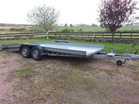 BPW Car Transporter Trailer 3500 16ft x 7ft