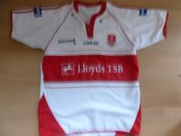 HULL KINGSTON ROVERS HOME SHIRT SIZE ADULT MEDIUM VERY GOOD CONDITION