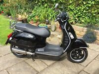 2012 VESPA GTS300 SUPER (BLACK)