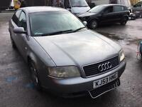 Audi A6 1.9 Se 53 plate auto breaking for parts all parts available