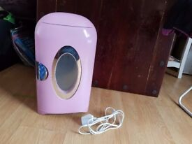 Pink 1.5L Mini fridge