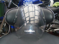 honda translap 700 standard clear screen perfect condition came of 2010 bike
