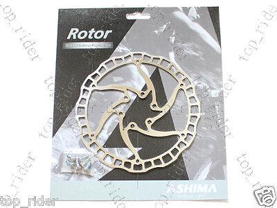Ashima Airotor MTB/Mountain Bike Disc Brake Rotor w/ Bolts 160mm 85g