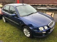 2001 (Y) ROVER 25 - SCRAP - THE PRICE IS £130 - NO OFFERS
