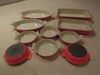 Le Creuset Cookware and other items