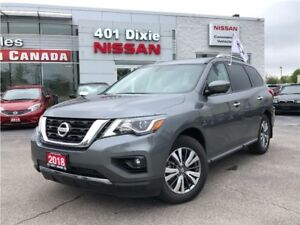 2018 Nissan Pathfinder SL|LEATHER|PANO ROOF|NAVI|360 CAMERA
