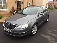 VW Passat long mot bargin top speck £1395