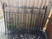 Iron cast gates