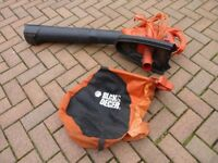 Black and Decker Leaf blower & vacuum