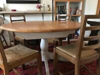 M&S Padstow extended dining table