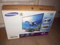 Samsung 43 inch TV - Series 4 in original box