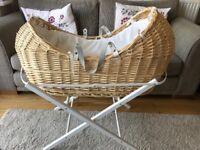 Moses basket John Lewis heritage collection