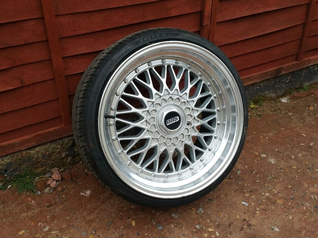 18 Inch Staggered Bmw Bbs Dare Rs Alloy Wheels And Tyres