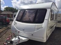 2006 Sterling Vitesse 600/6 Berth Twin Axle Fixed side bunks with Motor Mover