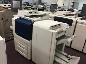 Xerox 560 Color High Quality Printer Copiers Business copy machine REPOSSESSED Only 98k Pages Print Shop Photo copier