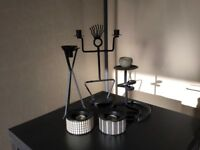 Selection of Metal candlesticks