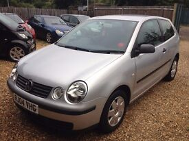 2004 VOLKSWAGEN POLO 1.4 AUTOMATIC.3 DOOR.1 YEAR M.O.T.