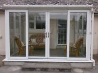 Double Glazed White UPVC Conservatory in excellent condition.